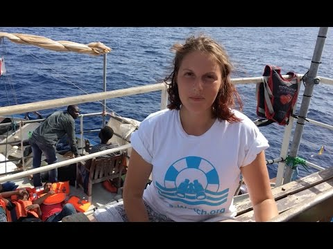Human Rights at Sea - SeaWatch VBlog Post 3 After Libyan Coastguard intervention