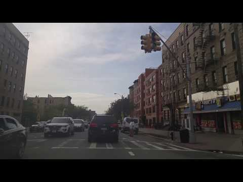 Driving from Port Morris to Mott Haven in The Bronx,New York