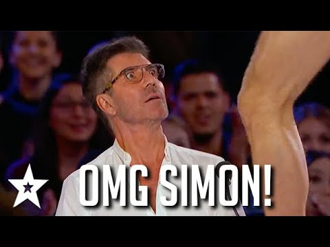 Download Simon Cowell CAN'T BELIEVE His Eyes! Impressive Auditions on AGT   Got Talent Global