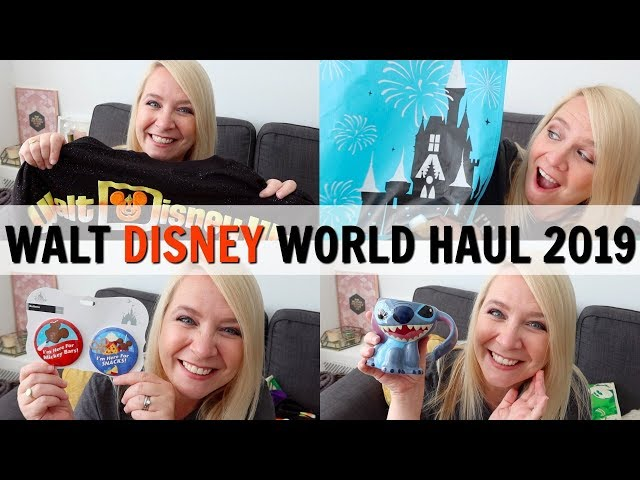 WALT DISNEY WORLD HAUL 2019!
