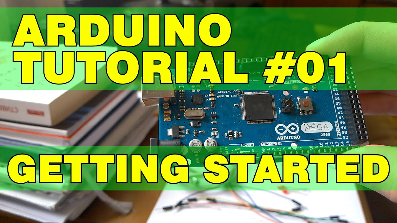 Arduino tutorial getting started youtube