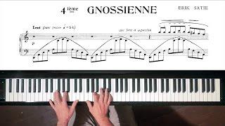 Скачать Erik Satie Gnossienne No 4 Paul Barton FEURICH Piano