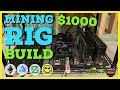 How To Build Crypto Mining Rig W/ $2000 or LESS - Beginner ...