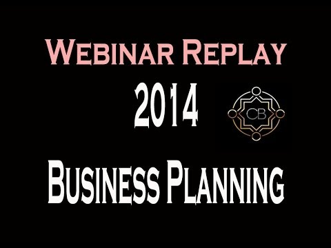 2014 Business Planning Webinar - Real Estate Training
