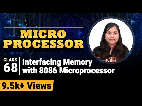 Interfacing Memory with 8086 Microprocessor - Microprocessor for Degree Engineering