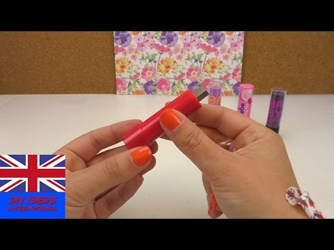 DIY USB Flash Drive – Lipstick USB Flash Drive!!! – easy DIY tutorial – BACK TO SCHOOL