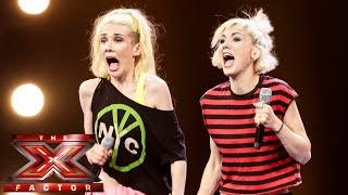 blonde electric sing joan jett s i love rock and roll   boot camp   the x factor uk 2014