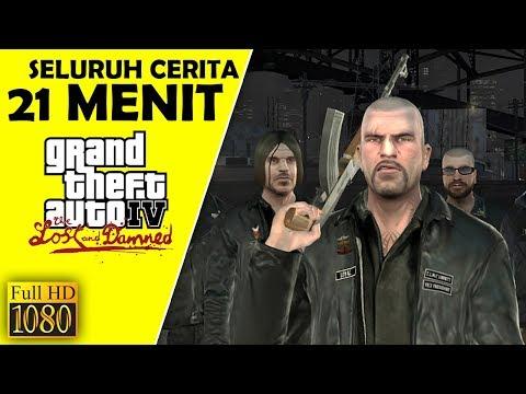 Seluruh Alur Cerita GTA 4 The Lost and Damned Hanya 20 MENIT - Grand Theft Auto TLAD