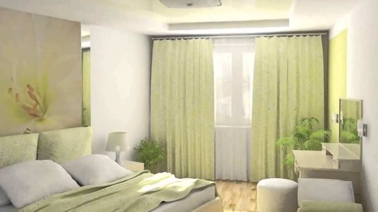интерьер маленькой спальни 9 кв м Youtube