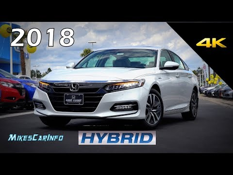2018 Honda Accord Hybrid Touring - Ultimate In-Depth Look in 4K