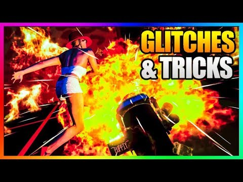 GTA 5 Online - 5 NEW GLITCHES & TRICKS...