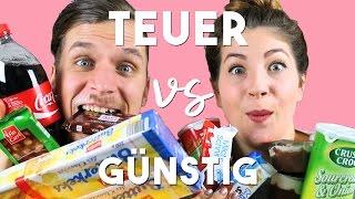 TEUER vs GÜNSTIG | LIDL TASTE TEST