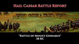 Hail Caesar Battle Report -