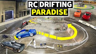 homepage tile video photo for This Car Shop Turned Into a RC Drift House: Super G Drift Arena!