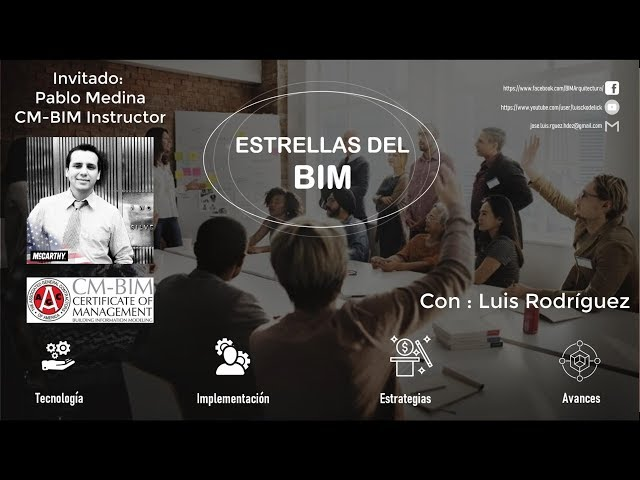 Estrellas del BIM con Pablo Medina