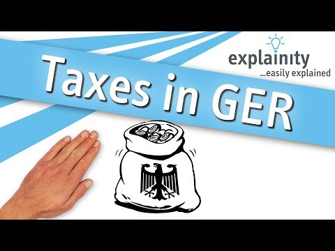Taxes In Germany Explained (explainity® Explainer Video)