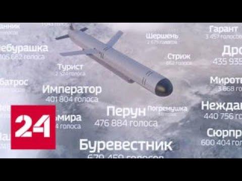 Новая ракета 'Буревестник'