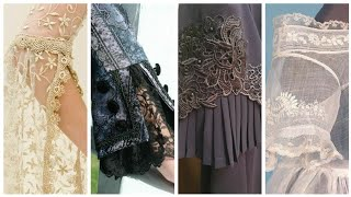 Stylish Net Sleeves / Laces Sleeves Design For women and Girls