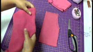 Aulinha informal com Vivi Prado 1 – com fazer uma calça para boneca