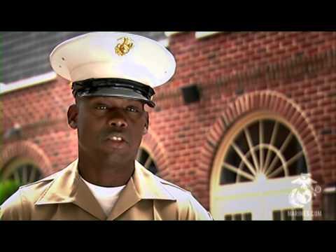 Meeting a Marine Corps Recruiter