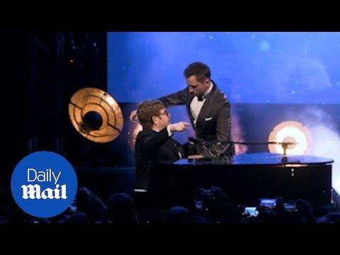 Elton John and Taron Egerton perform emotional duet at premiere Mp3