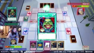 Smash Pro Mango plays a game of YuGiOh