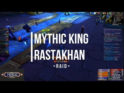 Raid vs King Rastakhan - Mythic Battle of Dazar'alor - Fury Warrior/Warlock PoV