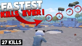 THE BEST GAMEPLAY YOU W LL EVER SEE  Pubg Mobile