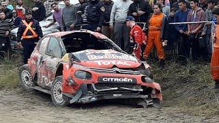 WRC - 2019 COMPILATION RALLY CRASH, ARGENTINA| PURE SOUND