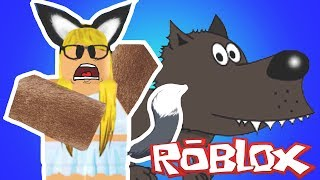 TURNING INTO A WOLF!! Roblox Wolf Simulator
