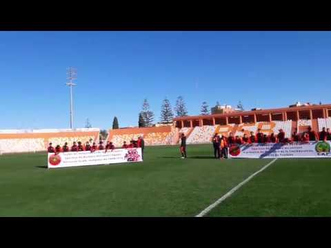 الملعب الجديد لمدينة بركان في حلته الجديدة/عشب طبيعي+مرافق عالمية Le stade municipal de Berkane