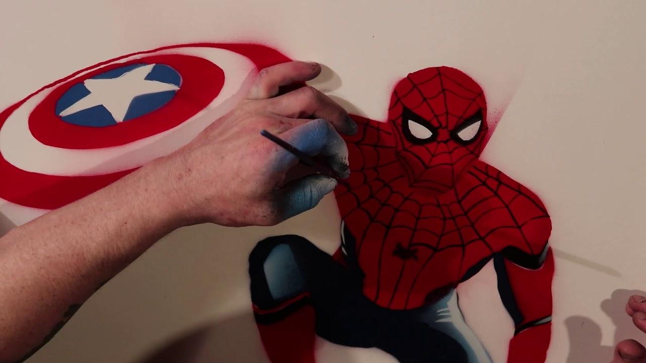 , SPRAY PAINT ART -Spiderman, My Chernobyl Blog, My Chernobyl Blog