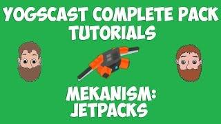 Minecraft Jetpack Tutorial - Mekanism [Yogscast Complete pack tutorial]