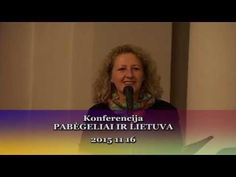 Pabėgeliai ir Lietuva. Konferencija. 2015 11 16