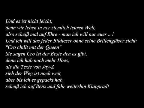 Cro - Kein Benz / Lyrics