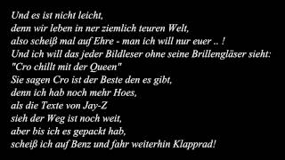 Cro - Kein Benz / Lyrics