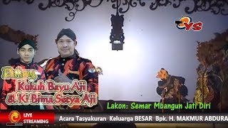 Download Video KI DALANG KUKUH BAYU AJI & KI BIMA SETYA AJI  LAKON SEMAR MBANGUN JATI DIRI MP3 3GP MP4