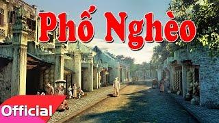 Phố Nghèo - Sáng tác: Trần Tiến - Mỹ Linh [Karaoke Beat MV]