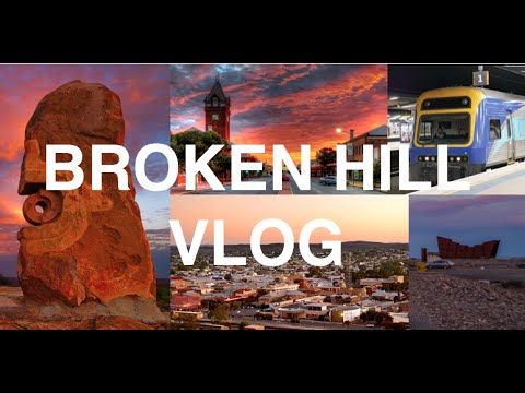 Broken Hill Holiday VLOG