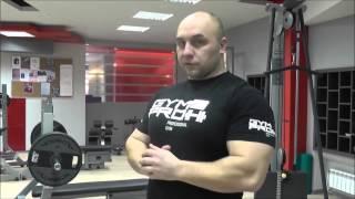 Силовая тренировка по жиму лежа с тренером фитнес-клуба GYMPRO Павликовым Русланом.