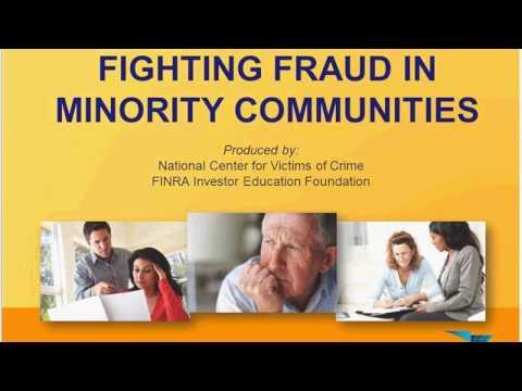 Fighting Fraud in Minority Communities