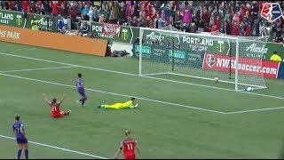 #NWSLPlayoffs | Highlights | Portland Thorns FC 4 - Orlando Pride 1