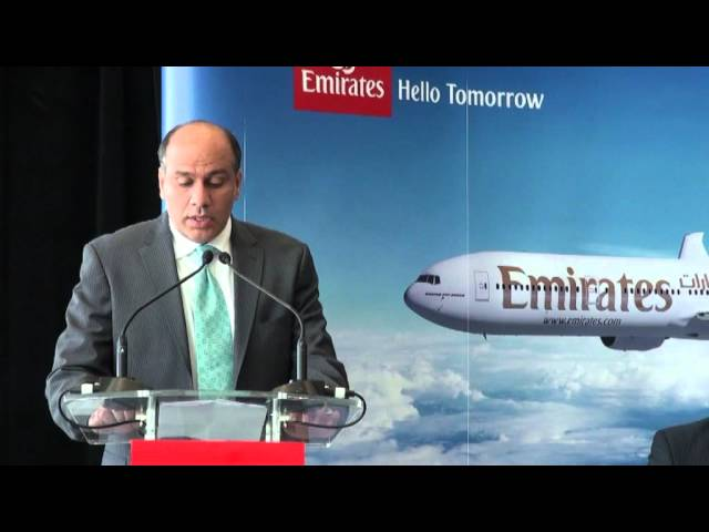 Emirates Adelaide Roadshow 2012 - Pre Launch Services Adelaide Dubai
