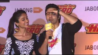 Varun Dhawan,Ileana Dcruz Unveil The Jabong Collection Inspired By The Movie Part 2