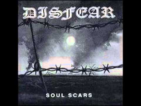 DISFEAR - Soul Scars [FULL ALBUM]: 01. Soul Scars O:00 02. Left To Die 2:07 03. The Ultimate Disaster 3:40 04. To Hell and Back 4:56 05. Weak 6:23 06. Sobriety 8:46 07. The Price of Ignorance 11:05 08. All This Fear 12:25 09. Do As You'r Told 14:33 10. The True Face of War 15:50 11. Grim Reality 17:37 12. After The Revival 19:37 13. Anxious 22:04 14. Disavowed 24:10