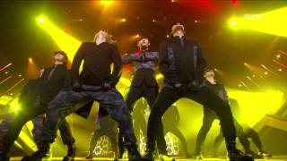 TVXQ - Keep your head down, 동방신기 - 왜, Music Core 20110219