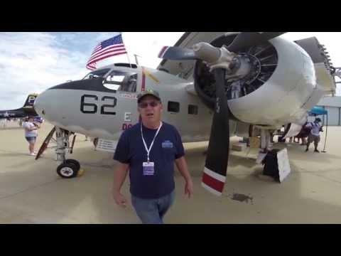 Grumman C1-A Trader Walkaround - YouTube