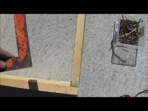 realisation coffrage pour seuil de portail youtube. Black Bedroom Furniture Sets. Home Design Ideas