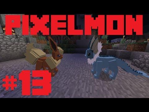 Minecraft Pixelmon: Episode 13 - EV Training and Eevee Training
