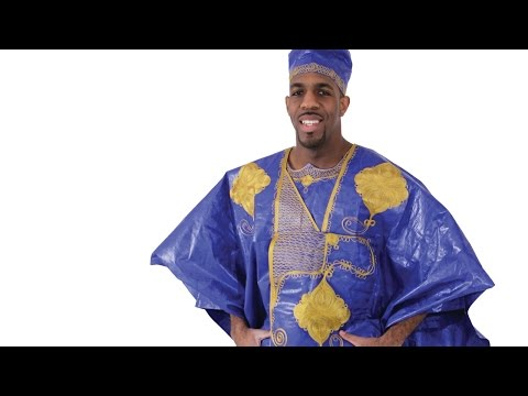 Embroidered Grand BouBou  |  Africa Imports |
